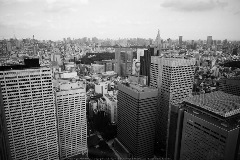 Tokyo / Shinjuku skyscrapers